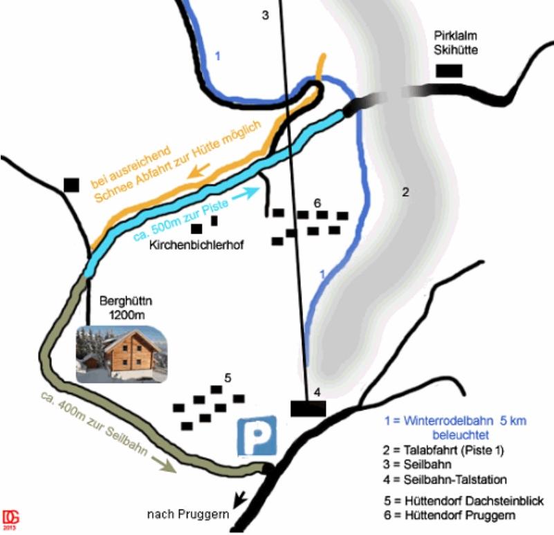 Anfahrt Karte